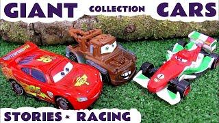 Giant Disney Pixar Cars English Episodes |Thomas and Friends | Play Doh Hot Wheels Shark Attack