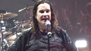 Black Sabbath, Paranoid, LAST SONG ever, FINAL SHOW, 04-02-17, Birmingham