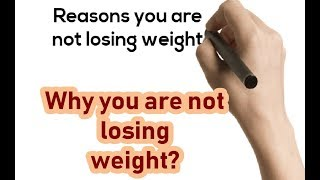 Reasons you are not losing weight | Why weight stalled on Keto?