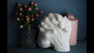 Набор для создания 3D скульптуры слепка рук Обзор