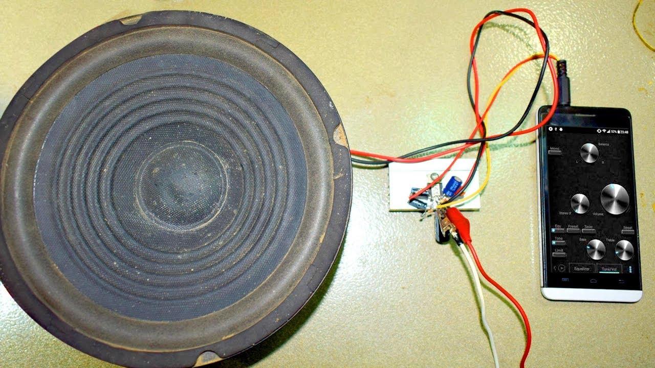 Powerful mini amplifier 20 W TDA2003