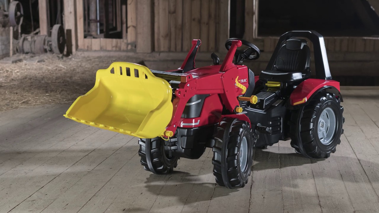 Rolly toys trac premium mit frontlader youtube
