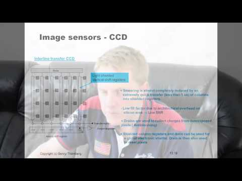 Lecture about machine vision systems - Image sensors