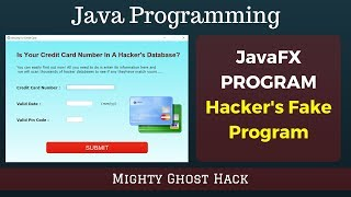 Hacker's Fake Program | Prank Your Friend | Java Programming