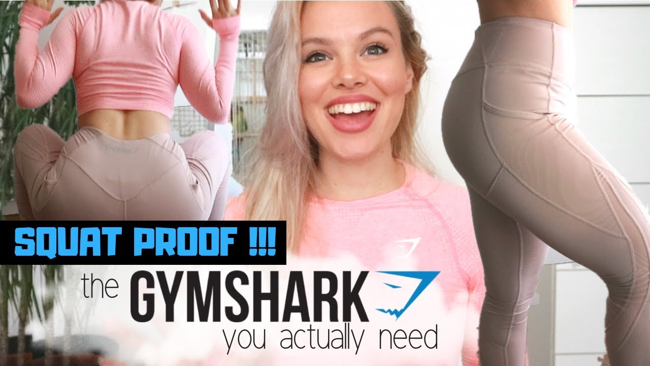 666ce1374cc50 GYMSHARK leggings that are actually SQUAT PROOF?!   Sculpture 2.0 and Vital  Seamless Crop Top Review