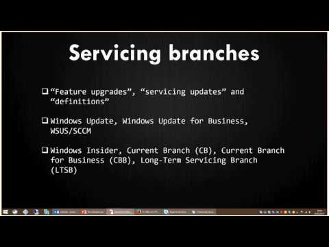 Windows 10 servicing branches - CBB or LTSB? A discussion