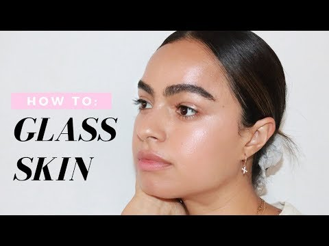 GLASS SKIN ROUTINE
