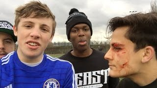 football injury sidemen vlog