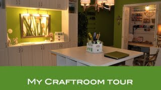 DIY-CRAFT ROOM TOUR