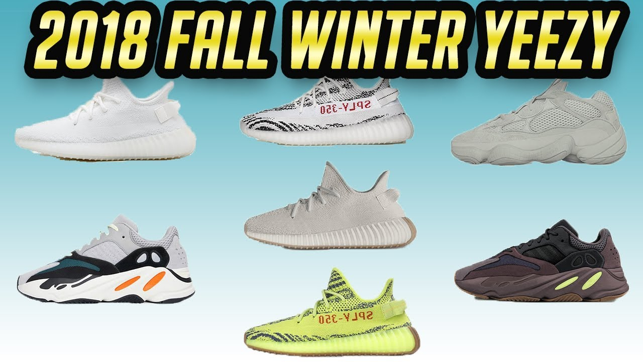 newest 446c2 9b1ec Adidas Yeezy Fall Winter 2018 Releases 350 500 700   Unboxing Butters    Utility Black