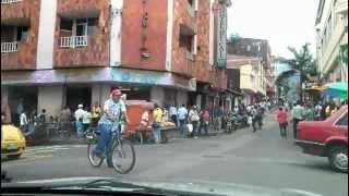 Streets of Calarca, Quindio, Colombia