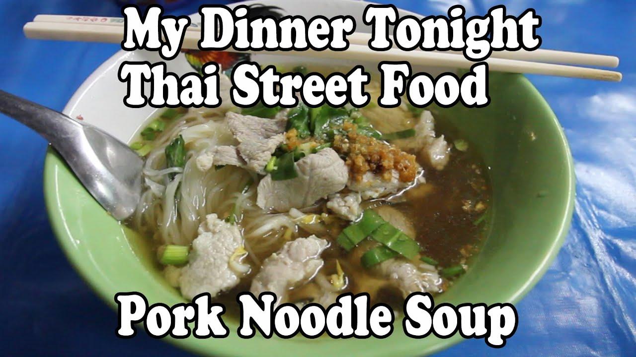 Thai Food Soup Youtube