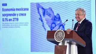 Crece economía mexicana. Conferencia presidente AMLO