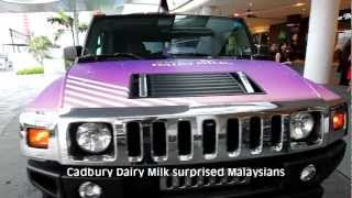 World Happiness Day with the Cadbury Taxi