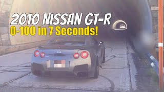 2010 Nissan GT R 0-100 in 7 Seconds. 3 Pulls, first two no LC, the ...
