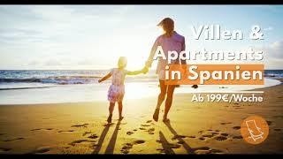 Vermietung von Strandvillen & Apartments | Tanke Sonne in Spanien