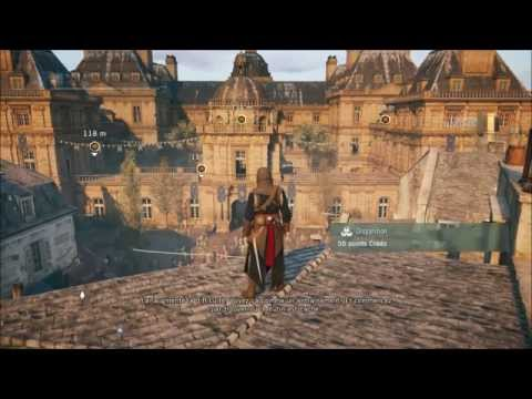 Assassin's creed Unity - Visite au palais du Luxembourg - Gameplay PS4