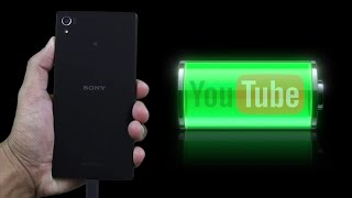 Sony Xperia Z5 Premium - Battery Life (watching youtube videos)