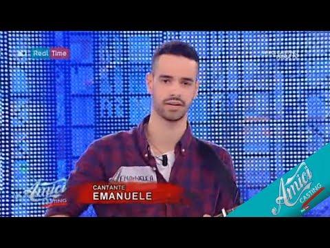 Emanuele Aloia - Provino Casting Amici 2017    #Amici17