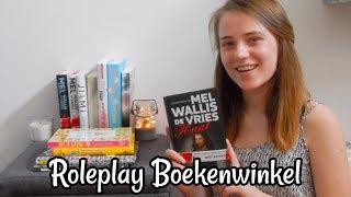 ASMR Roleplay Boekenwinkel Nederlands Dutch ASMR Mandy Denise
