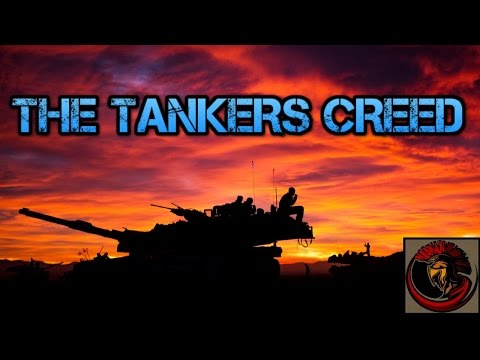 The Tankers Creed - Armored Honor And Respect