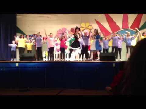 I'm Late - New Paltz Middle School Alice in Wonderland