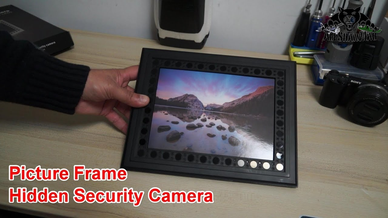 Conbrov T10 Picture Frame Hidden Security Camera Youtube