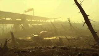Post Apocalyptic Ambience – Nuclear Wasteland (White Noise, ASMR, Relaxation)