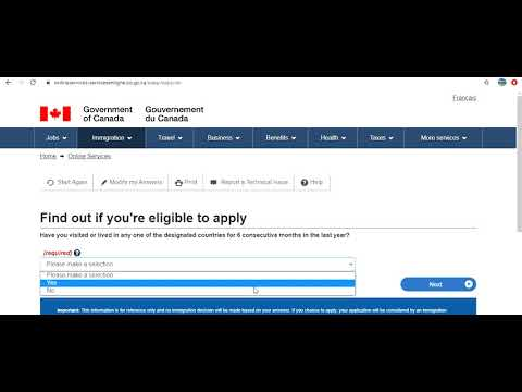 How To Apply Intra Company Transfer Work Permit (ICT) For Canada Step By Step Full Information