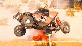 BIG UGLY CRASH AT King Of the Hammers!