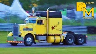 BEST JAKE BRAKE EVER  Pure Engine Sound  LOUD PIPES custom trucks