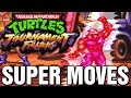 Teenage Mutant Ninja Turtles Tournament Fighters All Super Desperation Moves SNES Super Nintendo