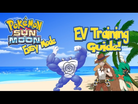 Pokemon Sun and Moon Easy Mode: Ev training