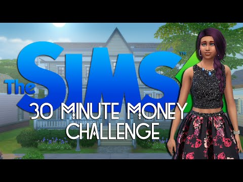 Sims 4 // 30 Minute Money Challenge