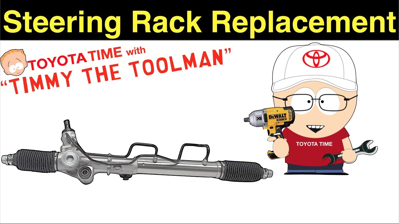 Toyota 4Runner Steering Rack Replacement