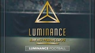 06/19/18 - eBay - 9 PM CDT - 2018 Panini Luminance Football Full Case Break