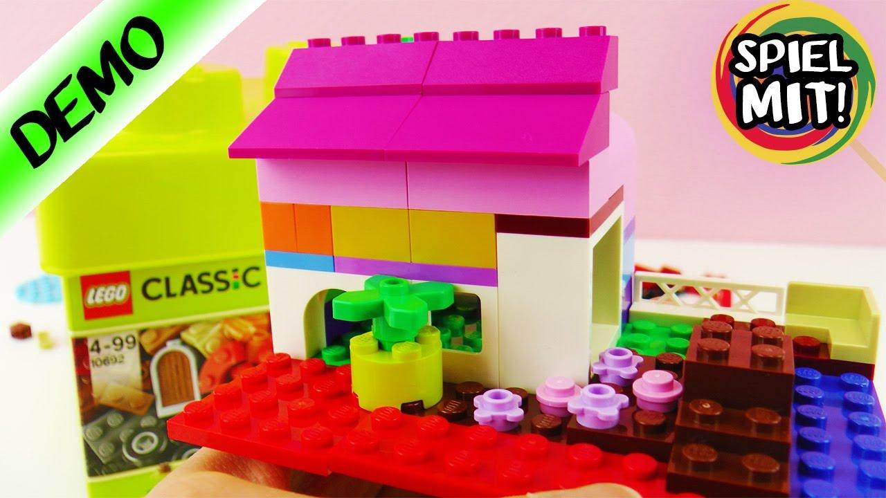 lego haus bauen kathis traumhaus mit dachterrasse lego classic set mit vielen bunten steinen. Black Bedroom Furniture Sets. Home Design Ideas
