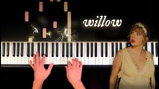 Willow piano cover - taylor swift