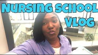 VLOG|1st Week of Nursing School Quarter 6