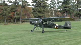 Download Fieseler Storch take-off Mp3 and Videos