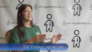 TGI Friday's Interview - Server(A TGI Friday's server gives us a detailed description about what it's like to serve at TGI Friday's and the screening process the restaurant chain conducts., 2014-05-29T13:12:40.000Z)