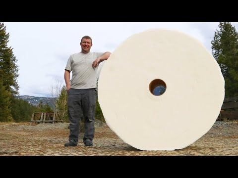 unboxing-world's-largest-toilet-paper-roll