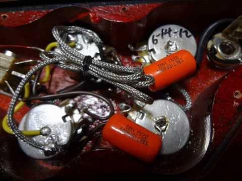 2012    Gibson    SG 61 Burst Bucker1   3 Sprague Orange Drop 715P