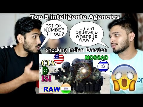Shocking Indian Reaction On  Top 5 Inteligente Agencies In The World | M Bros