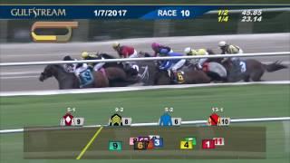 Gulfstream Park Race 10 | January 7, 2017