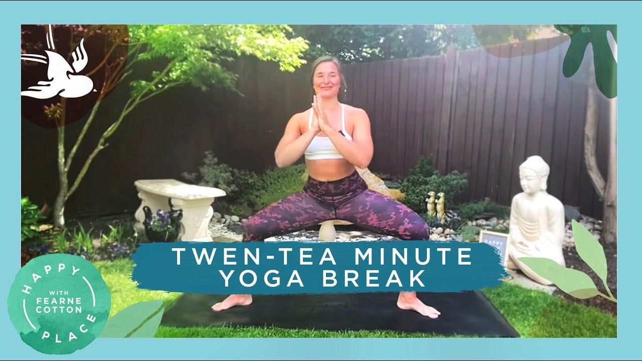 Twen-Tea Minute Vinyasa Flow Yoga Workout | Fearne Cotton's Happy Place