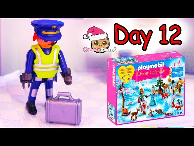 Playmobil Holiday Christmas Advent Calendar Day 12 Cookie