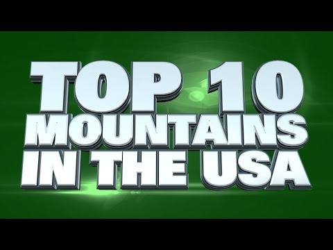 Top 10 Tallest Mountains in the USA