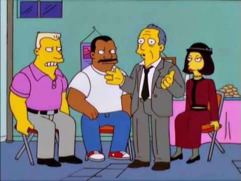 Симпсоны. Собрание Анонимных алкоголиков.