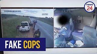 WATCH   Bogus cops hijack truck near Potchefstroom